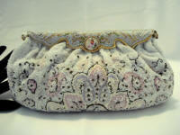 Vintage 1930 Charbet French beaded evening purse