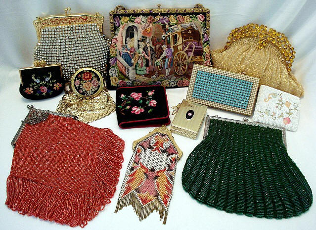 Antique purses and vintage handbags
