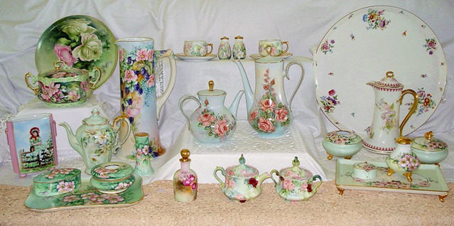 Limoges and Porcelains and China