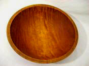 1930 Munising small Tiger maple bowl awesome graining