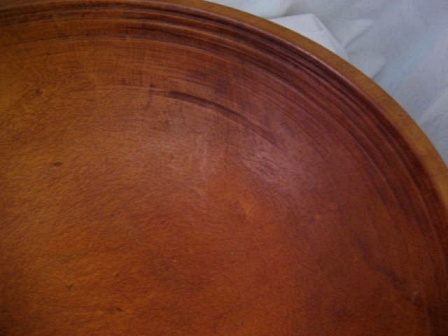 The Wood Has A Nice Feel, We Have Applied Nothing To This Bowl, Although In  The Past, There May Have Been A Wax Applied To The Exterior, As It Has A  Bit ...