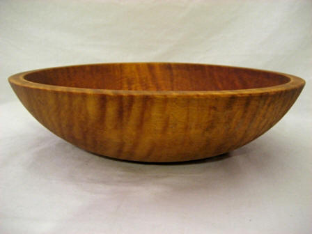 Munising Tiger Maple Small Bowl Antique Dough Bowls