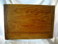 Antique primitive pastry bread dough board