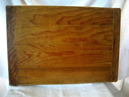 antique dough pastry board vintage pine bread board
