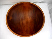 Vintage 1930 - 1940's Tiger maple dough bread bowl